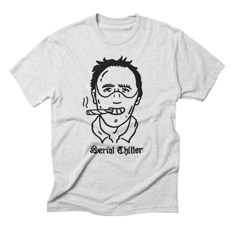 Serial Chiller Men's T-Shirt by Mr. Chillustrator