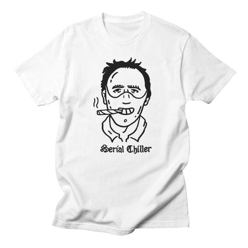 Serial Chiller Men's Regular T-Shirt by Mr. Chillustrator