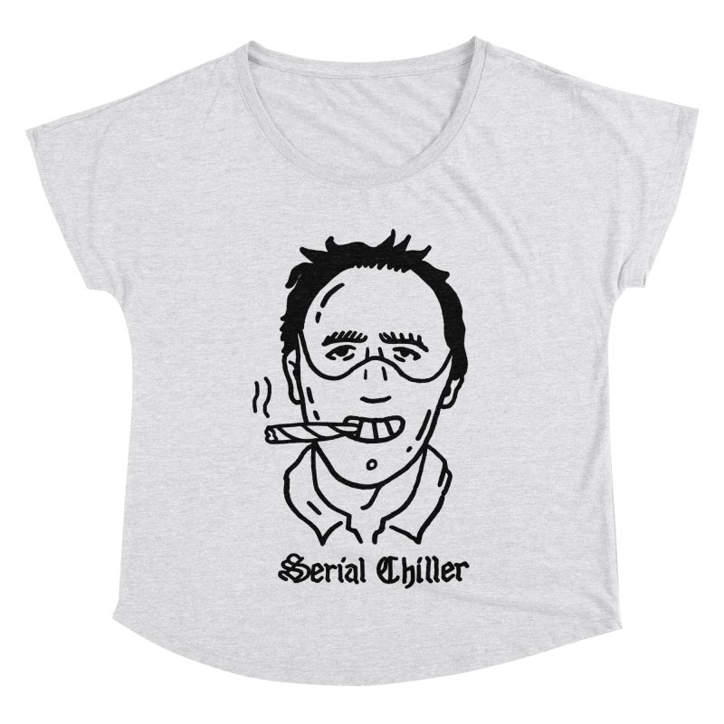 Serial Chiller Women's Scoop Neck by Mr. Chillustrator