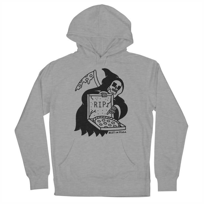 Rest In Pizza Men's Pullover Hoody by Mr. Chillustrator