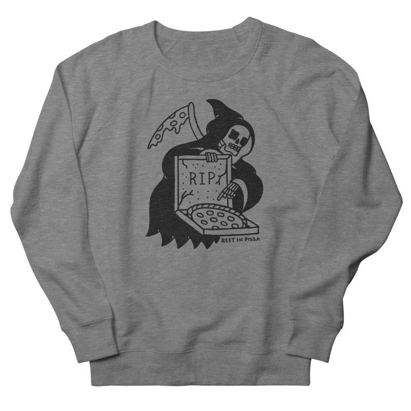 Rest In Pizza Men's Sweatshirt by Mr. Chillustrator