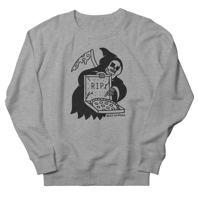 Rest In Pizza Men's Sweatshirt by Mr. Chillustrator