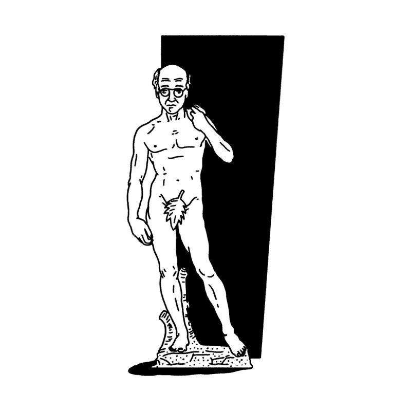 Statue of David by Mr. Chillustrator