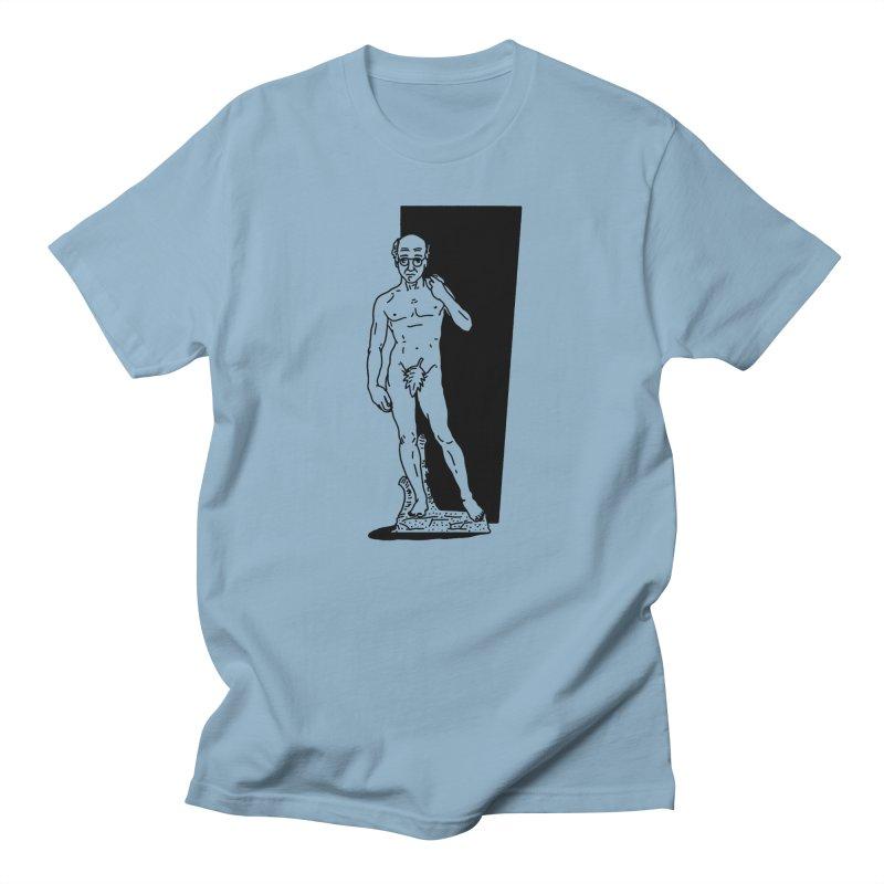 Statue of David Men's Regular T-Shirt by Mr. Chillustrator