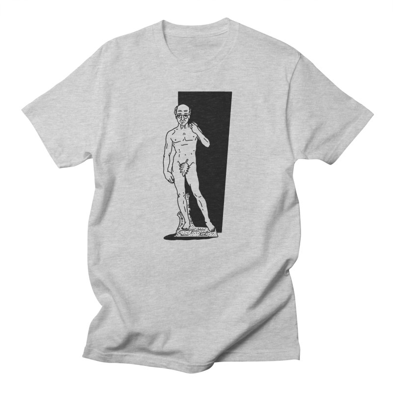 Statue of David Men's T-shirt by Mr. Chillustrator