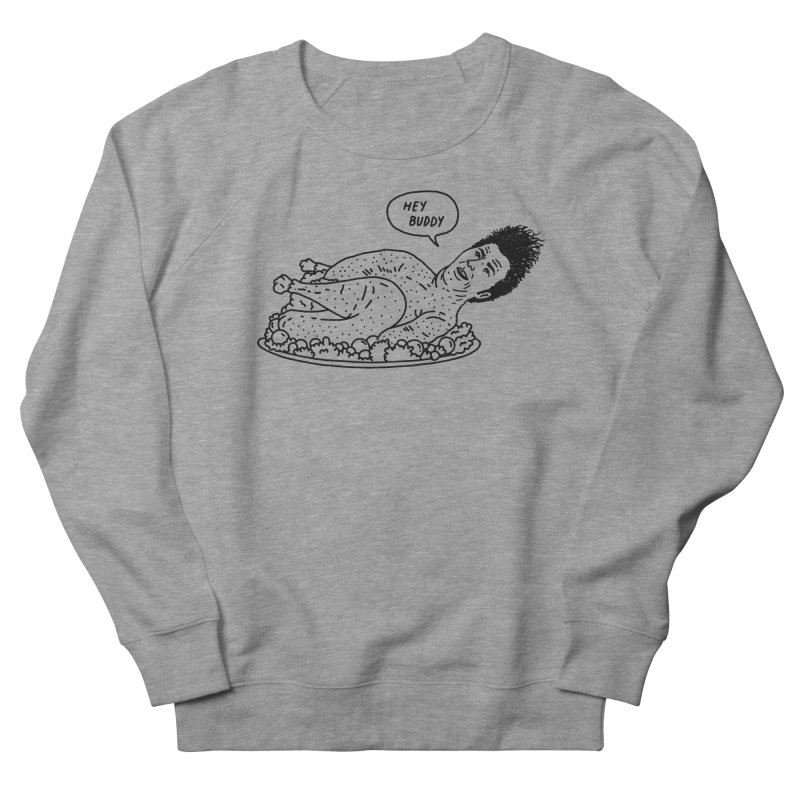 Butter Shave Men's French Terry Sweatshirt by Mr. Chillustrator
