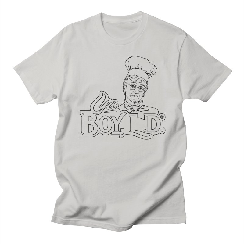 Ya Boy L.D. Men's Regular T-Shirt by Mr. Chillustrator