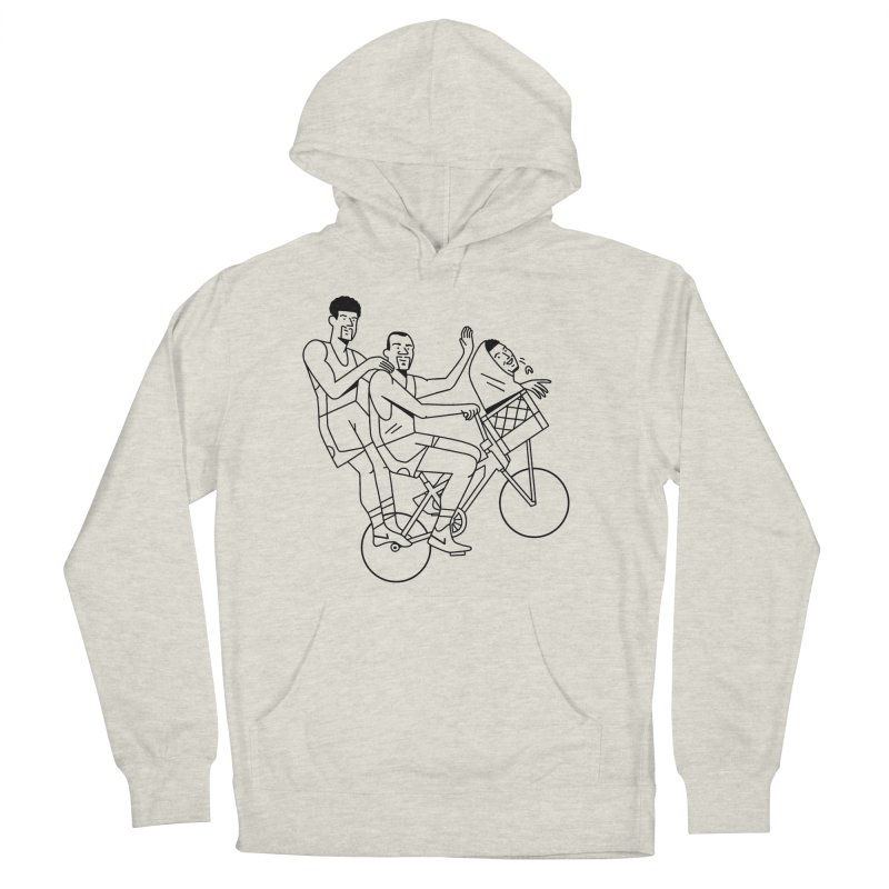 Big 3 Go Home Men's Pullover Hoody by Mr. Chillustrator