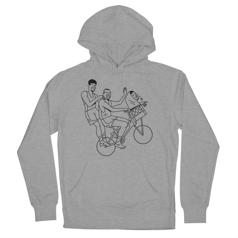 Big 3 Go Home Men's French Terry Pullover Hoody by Mr. Chillustrator