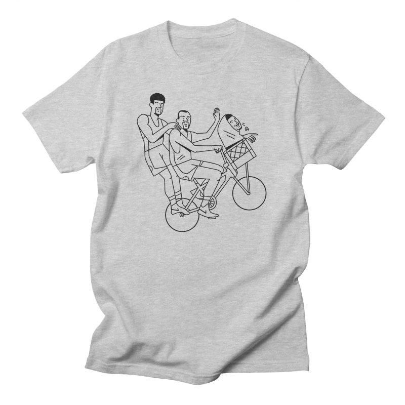 Big 3 Go Home Men's Regular T-Shirt by Mr. Chillustrator