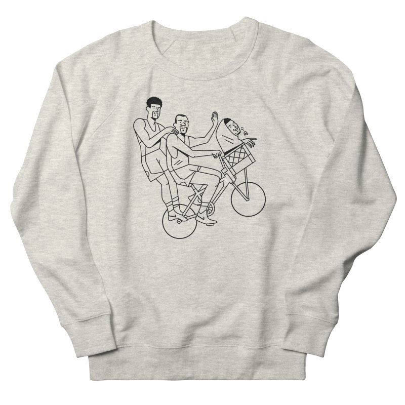 Big 3 Go Home Men's French Terry Sweatshirt by Mr. Chillustrator