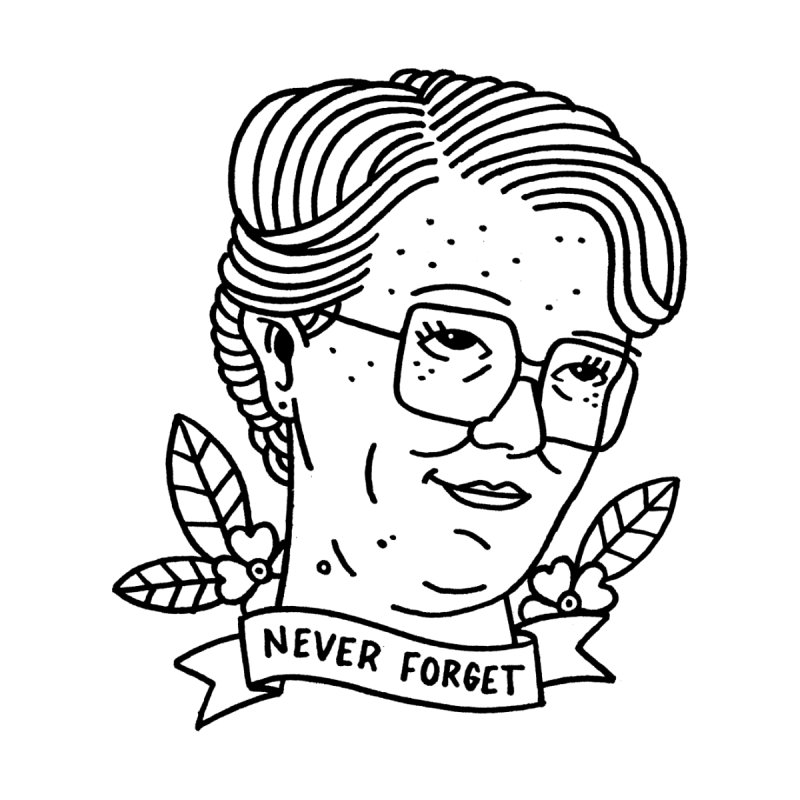 Barb Forever Men's T-Shirt by Mr. Chillustrator
