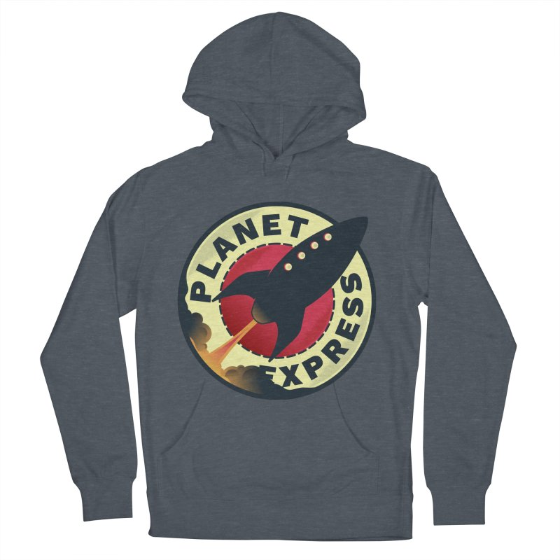 Planet Express Women's Pullover Hoody by mrchrisby's Artist Shop