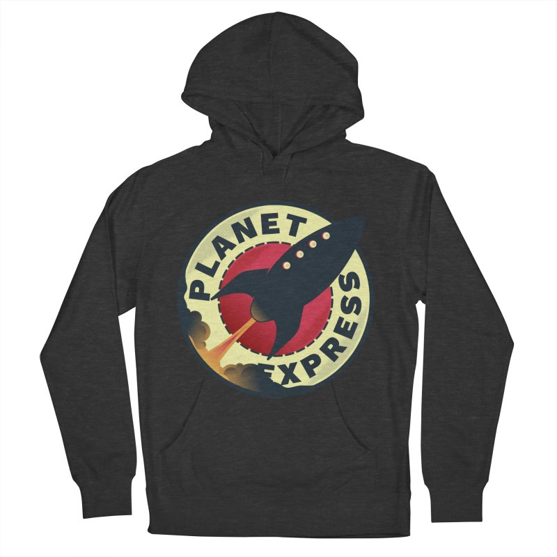 Planet Express Men's Pullover Hoody by mrchrisby's Artist Shop