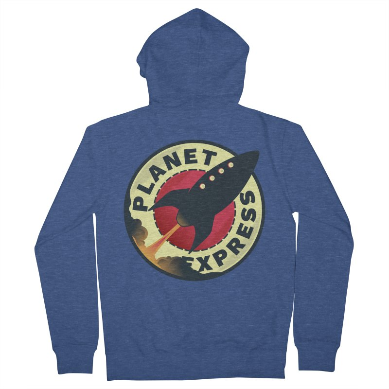 Planet Express Women's Zip-Up Hoody by mrchrisby's Artist Shop