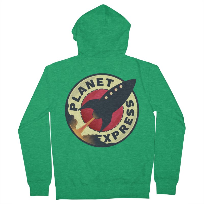 Planet Express Men's Zip-Up Hoody by mrchrisby's Artist Shop