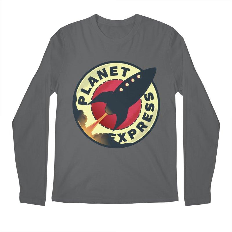 Planet Express Men's Longsleeve T-Shirt by mrchrisby's Artist Shop