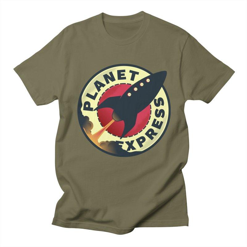 Planet Express Men's T-shirt by mrchrisby's Artist Shop