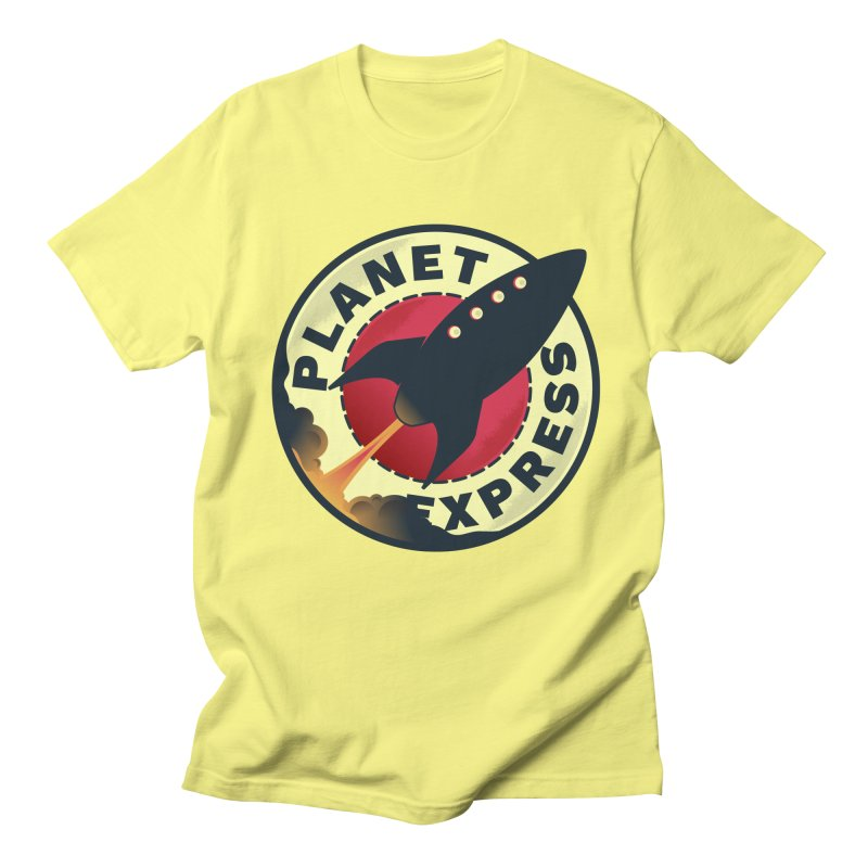 Planet Express Men's T-Shirt by mrchrisby's Artist Shop