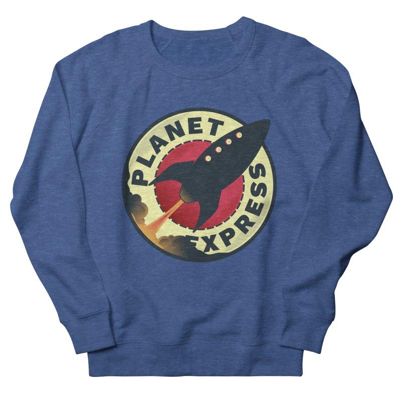 Planet Express Women's Sweatshirt by mrchrisby's Artist Shop