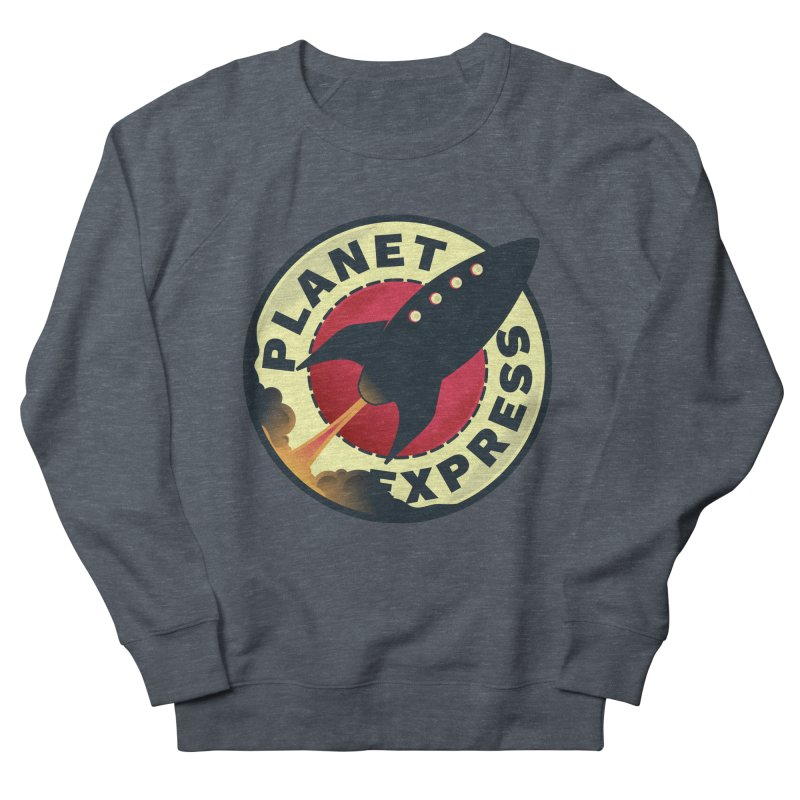 Planet Express Men's Sweatshirt by mrchrisby's Artist Shop