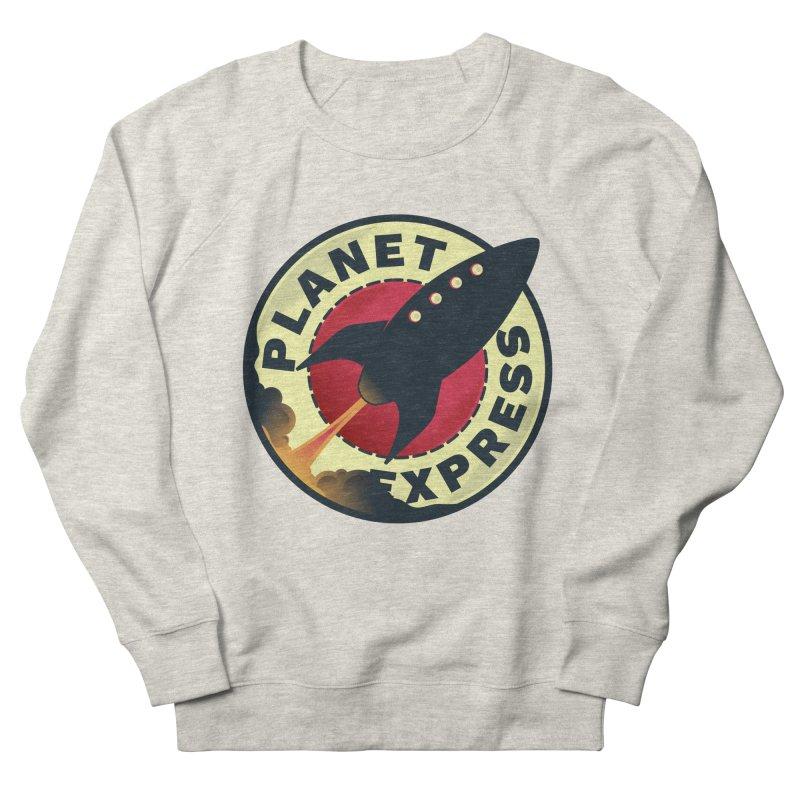 Planet Express Men's Sweatshirt by mrchrisby's Artist Shop