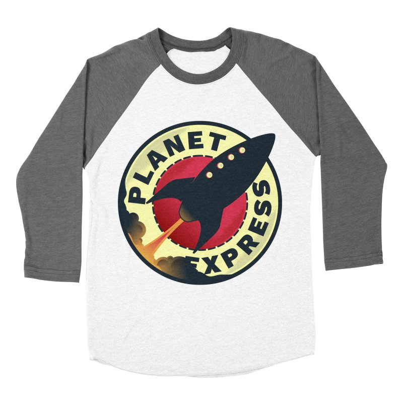 Planet Express Women's Baseball Triblend T-Shirt by mrchrisby's Artist Shop