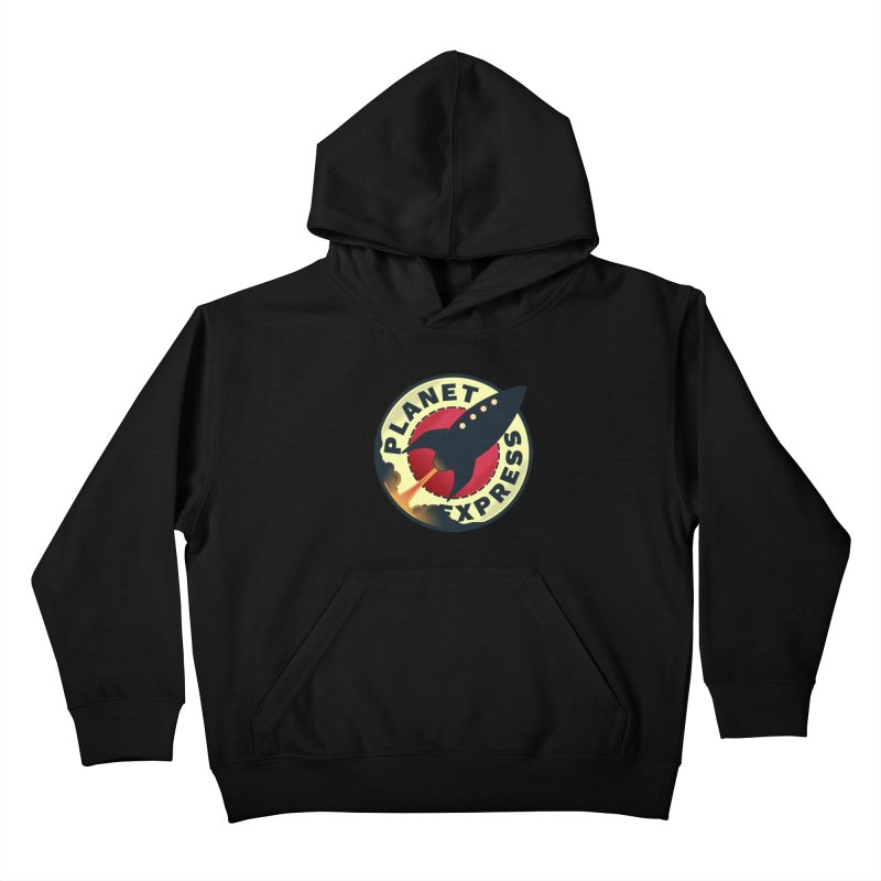 Planet Express Kids Pullover Hoody by mrchrisby's Artist Shop