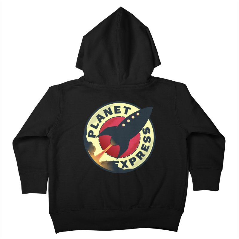 Planet Express Kids Toddler Zip-Up Hoody by mrchrisby's Artist Shop
