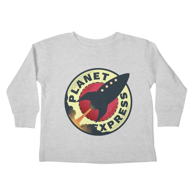 Planet Express Kids Toddler Longsleeve T-Shirt by mrchrisby's Artist Shop