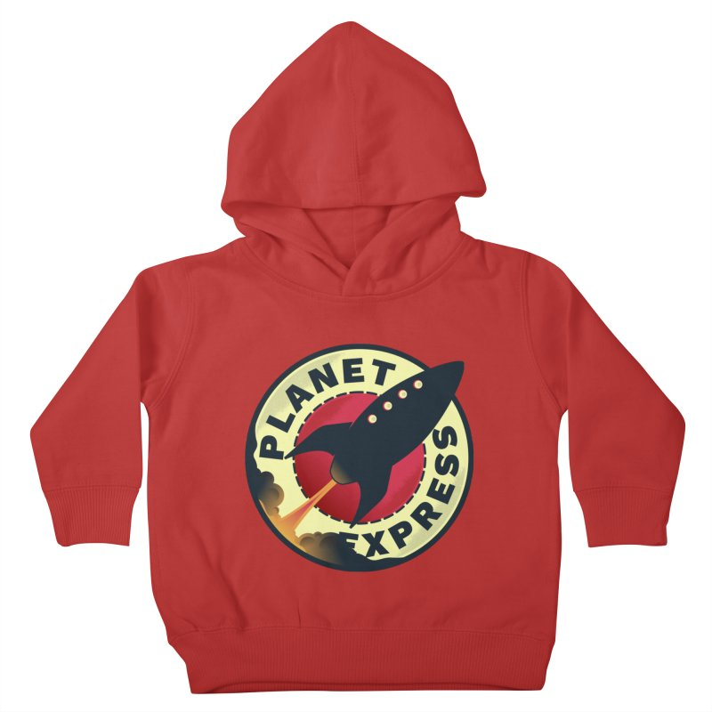 Planet Express Kids Toddler Pullover Hoody by mrchrisby's Artist Shop