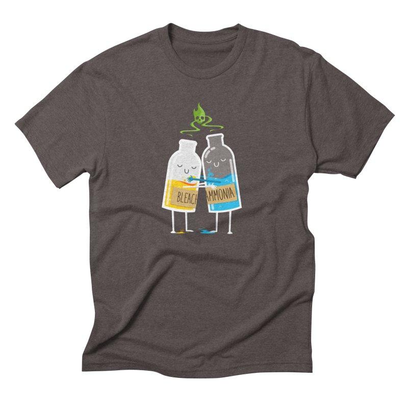 Toxic Love Men's Triblend T-shirt by mrchrisby's Artist Shop