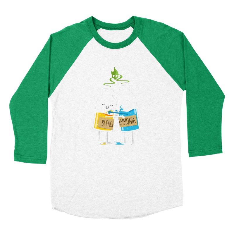 Toxic Love Women's Baseball Triblend T-Shirt by mrchrisby's Artist Shop