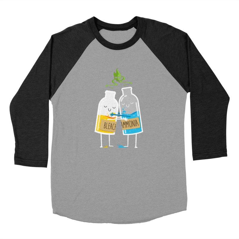 Toxic Love Men's Baseball Triblend T-Shirt by mrchrisby's Artist Shop