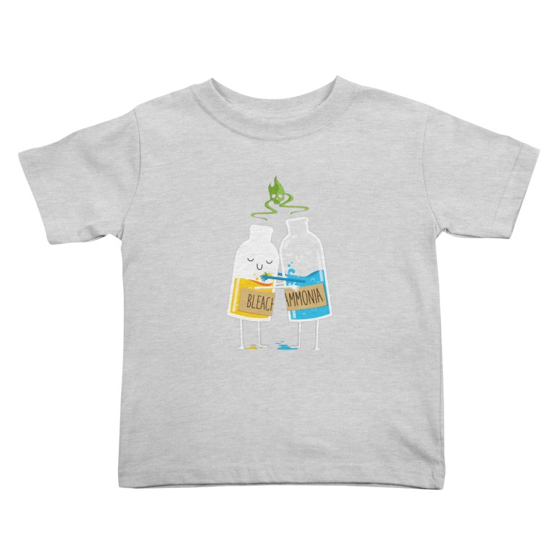 Toxic Love Kids Toddler T-Shirt by mrchrisby's Artist Shop