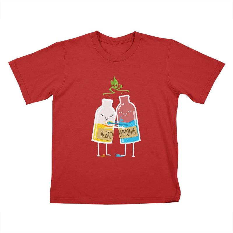 Toxic Love Kids T-shirt by mrchrisby's Artist Shop