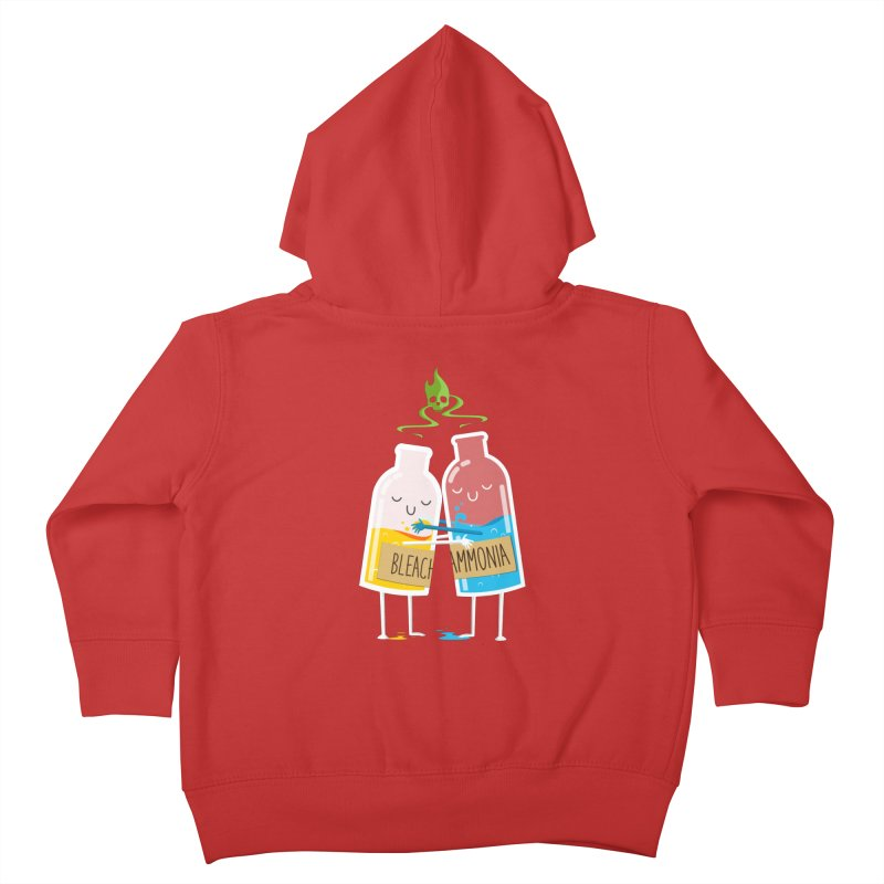 Toxic Love Kids Toddler Zip-Up Hoody by mrchrisby's Artist Shop