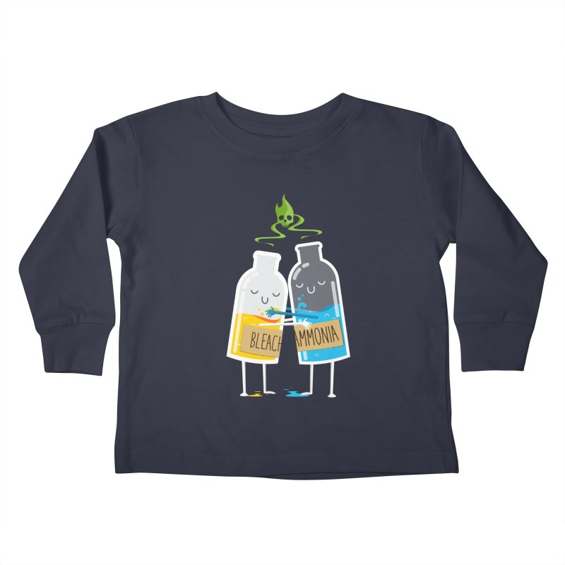 Toxic Love Kids Toddler Longsleeve T-Shirt by mrchrisby's Artist Shop