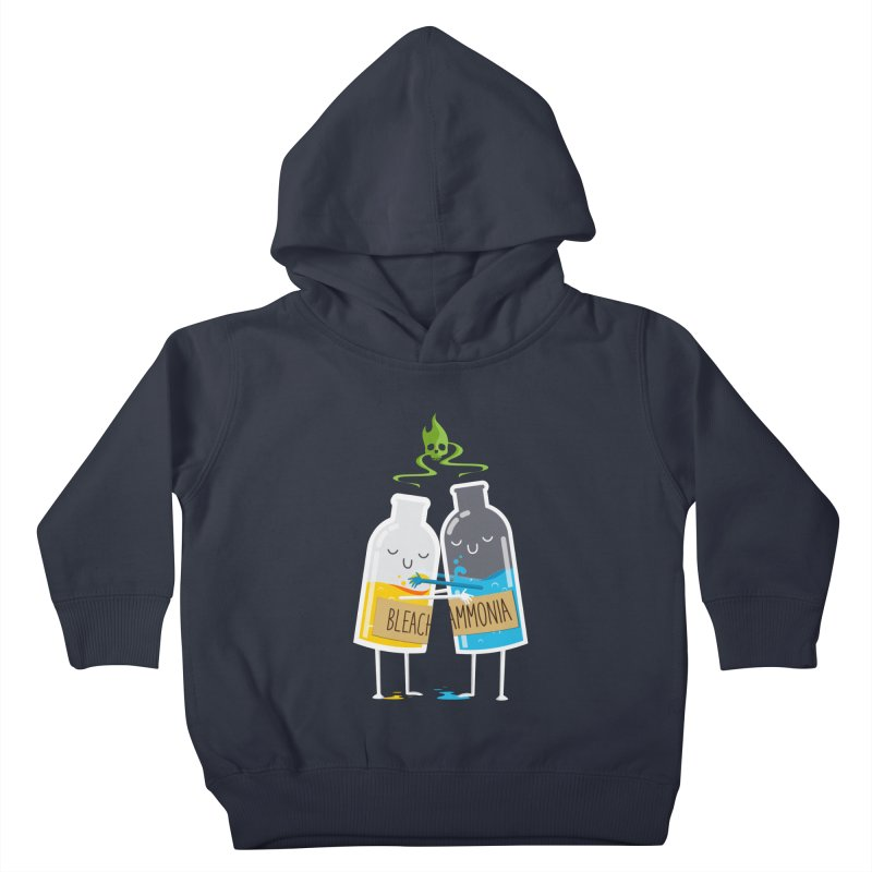 Toxic Love Kids Toddler Pullover Hoody by mrchrisby's Artist Shop