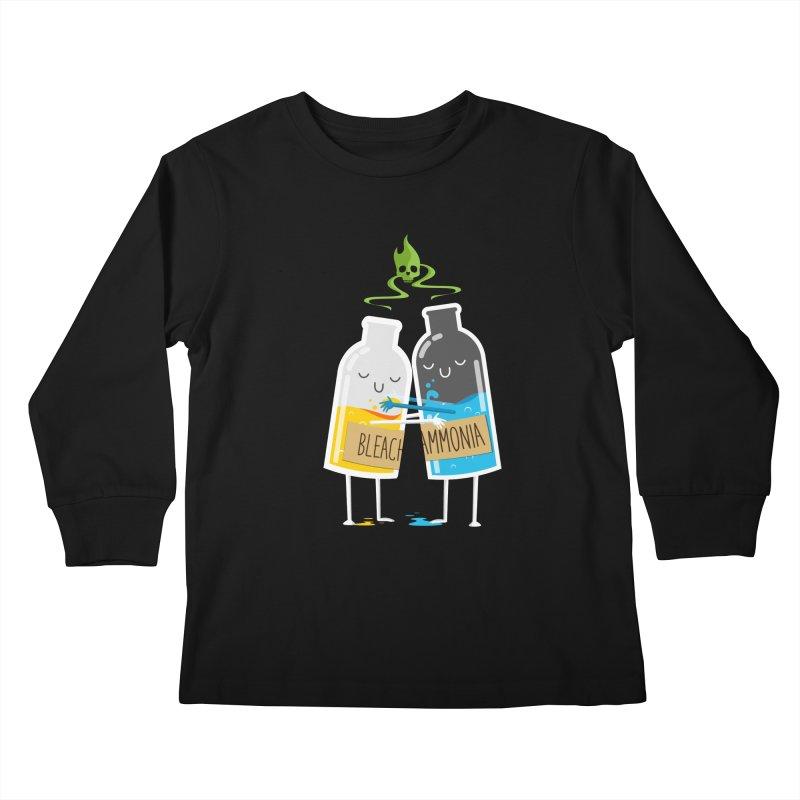 Toxic Love Kids Longsleeve T-Shirt by mrchrisby's Artist Shop