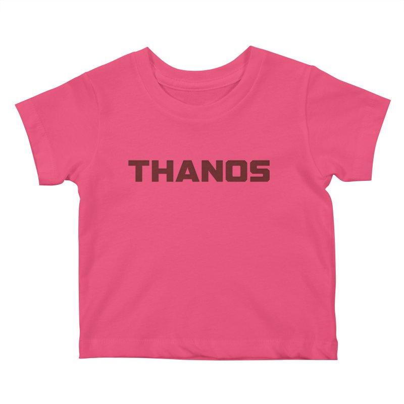 THANOS Kids Baby T-Shirt by mrdelman's Artist Shop