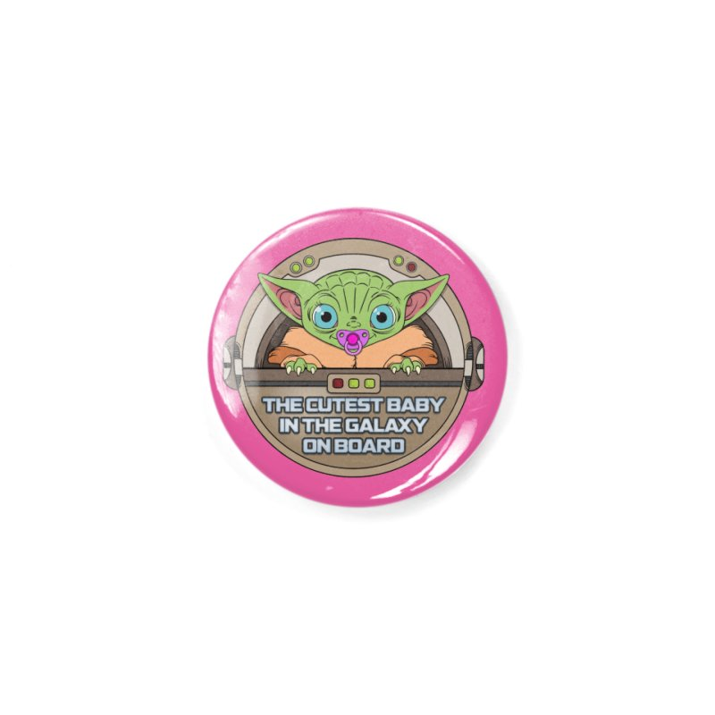 The Baby (girl) on Board Accessories Button by mrdelman's Artist Shop