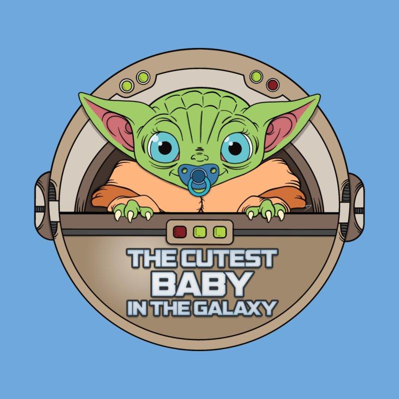 The Cutest Baby in the Galaxy (Boy Version) Accessories Sticker by mrdelman's Artist Shop