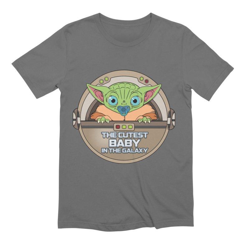 The Cutest Baby in the Galaxy (Boy Version) Men's T-Shirt by mrdelman's Artist Shop