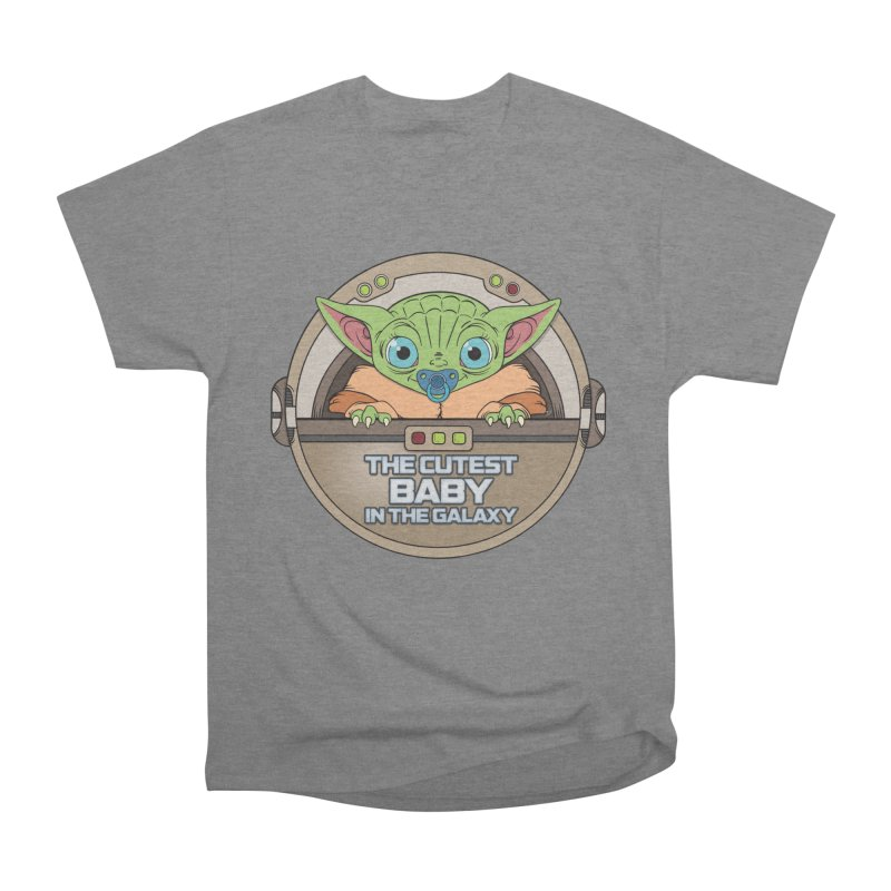 The Cutest Baby in the Galaxy (Boy Version) Men's Heavyweight T-Shirt by mrdelman's Artist Shop
