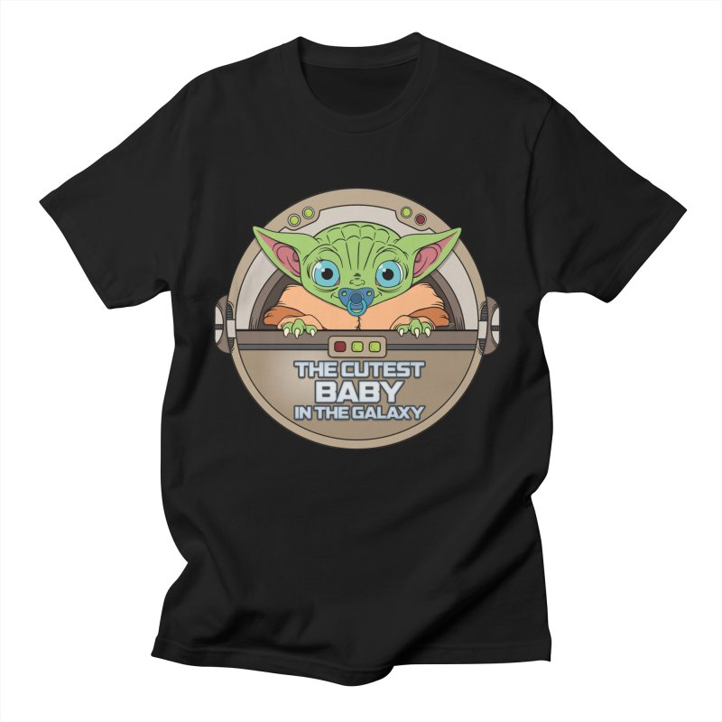 The Cutest Baby in the Galaxy (Boy Version) Men's Regular T-Shirt by mrdelman's Artist Shop