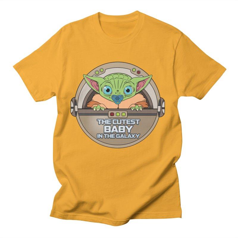 The Cutest Baby in the Galaxy (Boy Version) Women's Regular Unisex T-Shirt by mrdelman's Artist Shop