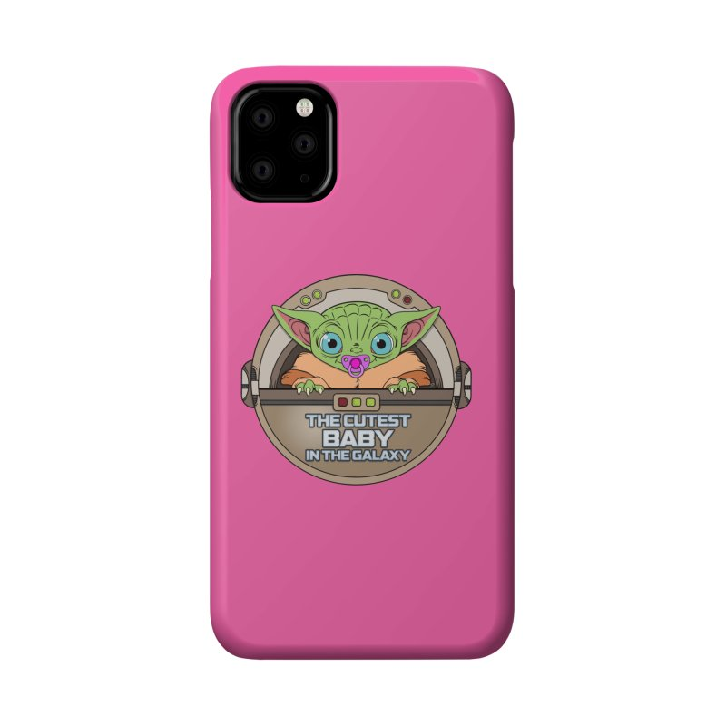 The Cutest Baby in the Galaxy (Girl Version) Accessories Phone Case by mrdelman's Artist Shop