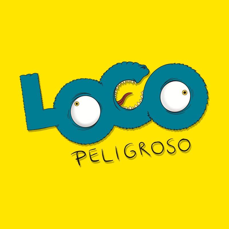 LOCO PELIGROSO Men's Pullover Hoody by mrdelman's Artist Shop