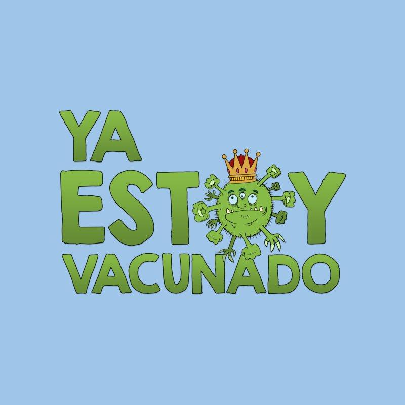 YO YA ESTOY VACUNADO Kids T-Shirt by mrdelman's Artist Shop
